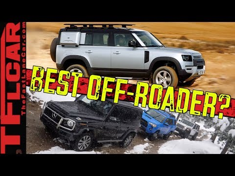How Good Is The New Land Rover Defender Off-Road? We Compare It To The Wrangler,  4Runner & G Wagon!