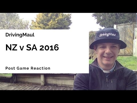 New Zealand v South Africa Post Game Reaction