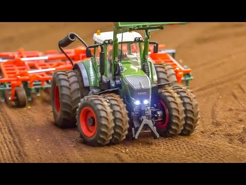 RC Tractors Work Hard! Big Fun In 1/32 Scale!