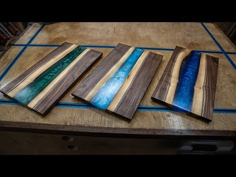 How to Make Epoxy Cutting Boards