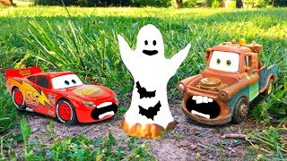 Disney Pixar Cars 3 Lightning McQueen and Mater's Scary Rescue Tall Tale Toy Story for Kids Movie
