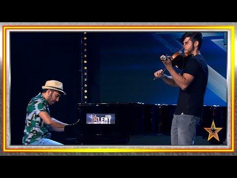 Tocan las CANCIONES de tus PELÍCULAS FAVORITAS | Audiciones 7 | Got Talent España 2019