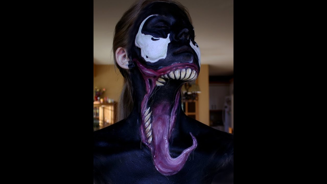 Venom Face Paint - You...