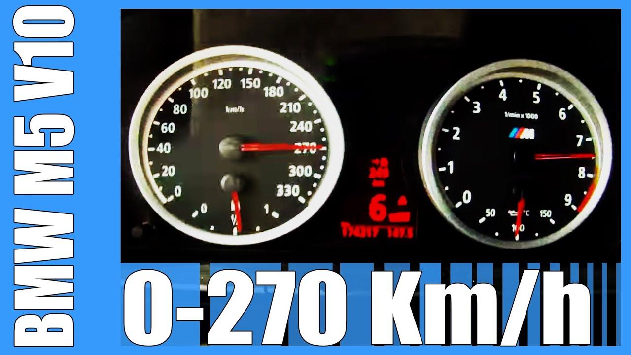 2008 m5 top speed