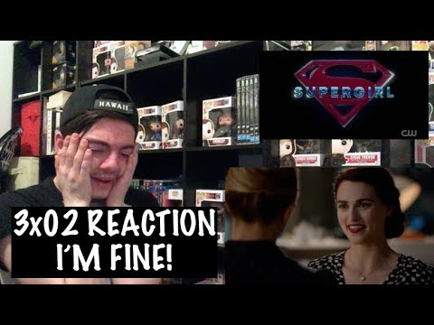 SUPERGIRL - 3x02 'TRIGGERS' REACTION