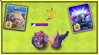 GOLEM vs PEKKA - CLASH OF CLANS | OMG ! WHO WINS? | MAX LEVEL GOLEM vs MAX LEVEL P.E.K.K.A. | COC