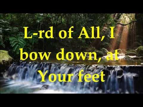 Paul Wilbur - Nobody Like You - Lyrics - Your Great Name Album 2013