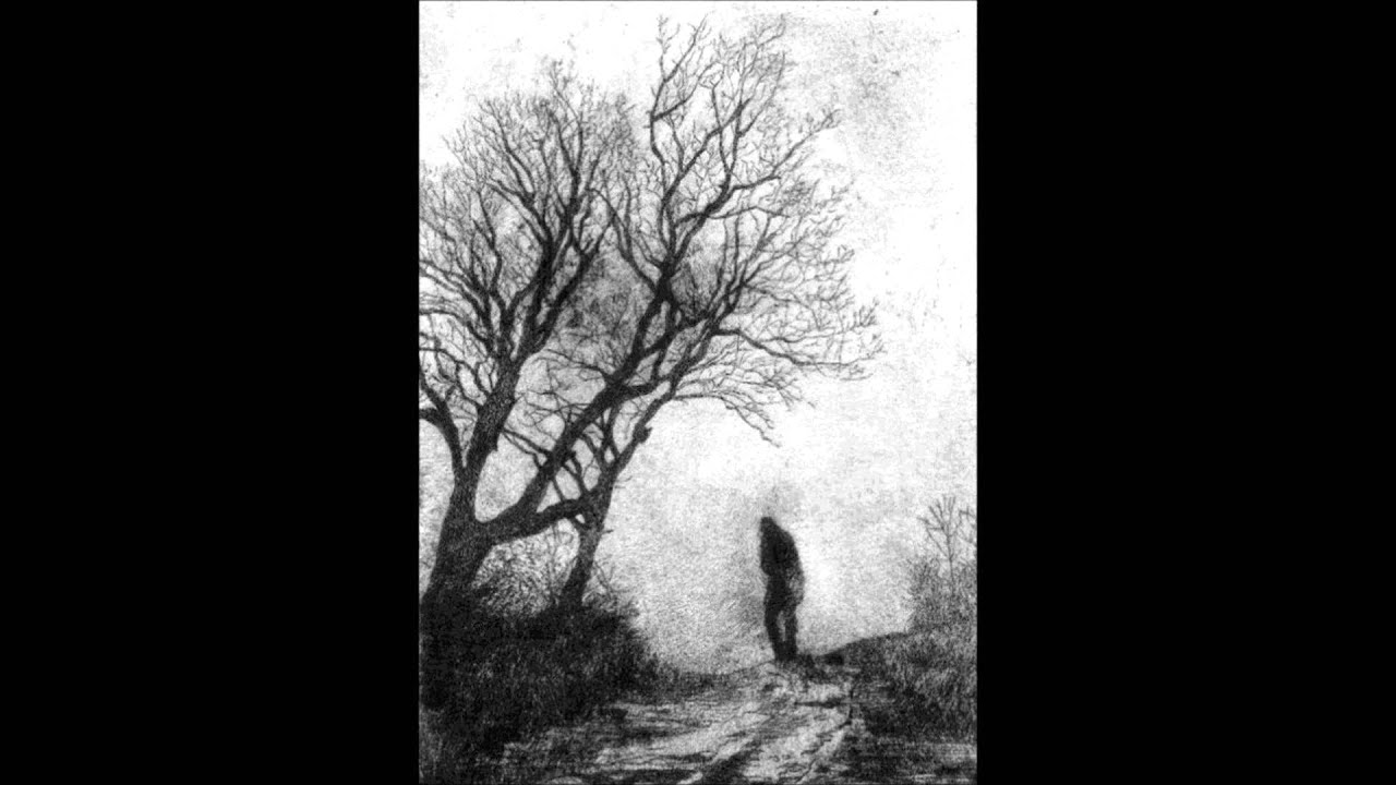 Depressive black metal art
