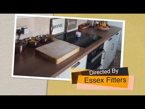 The Lopez family's New fitted kitchen - Essex Fitters ltd, Time lapse construction
