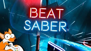 Beat Saber ЧЕЛЛЕНДЖ Imagine Dragons Believer и What Does The Fox Say на ЭКСПЕРТ HTC Vive VR