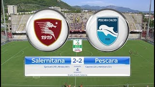 Salernitana – pescara 2-2, gli highlights
