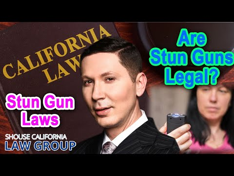 Are Stun Guns Legal in California?