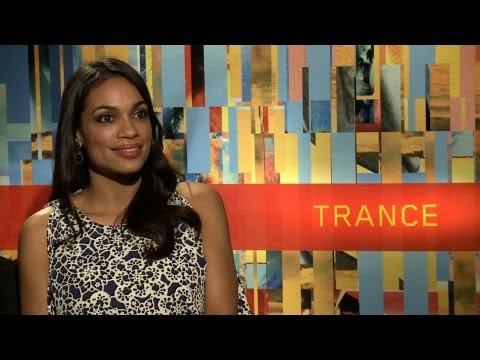 'Trance' Rosario Dawson Interview