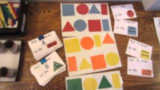 Teacher Made Materials for Early Literacy, Math and Motor Development