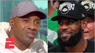 Why can't we just praise LeBron for a bit? - Jay Williams on the MJ/LeBron GOAT debate   KJZ