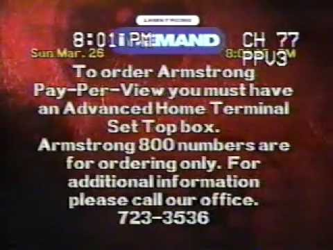 3/26/2000 Armstrong Cable (Medina, Ohio) Channel Surfing Clip