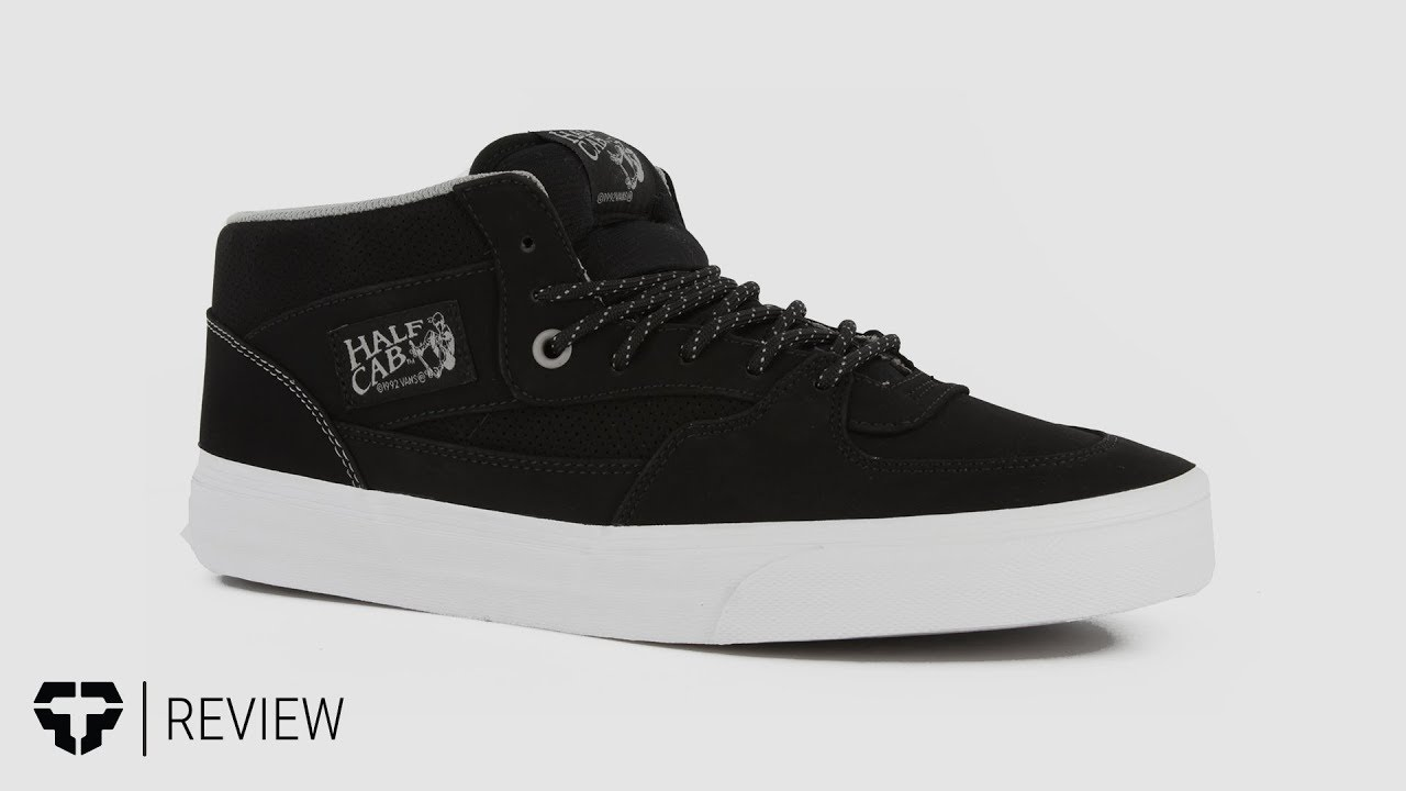 bc2788b43e Vans Classic Half Cab Skate Shoes review - YouTube