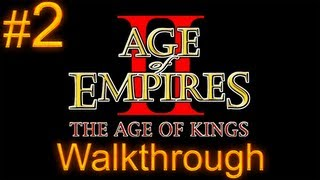 Age of Empires 2 Walkthrough - Part 2 - Joan of Arc Campaign - The Maid of Orleans [1/2]