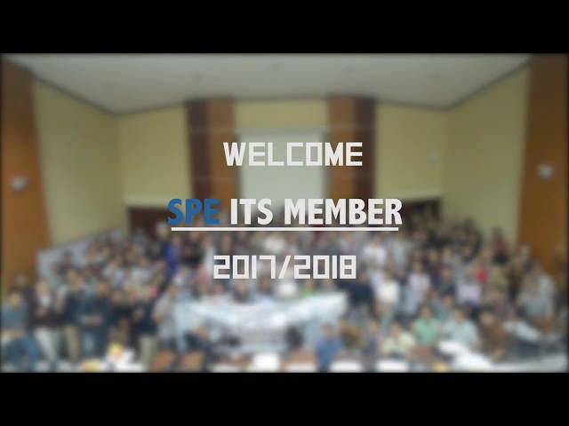 Welcome! Members of  SPE ITS Student Chapter