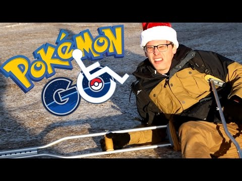 Thumbnail: Disabled Pokemon Go #3 - Santa Pikachu