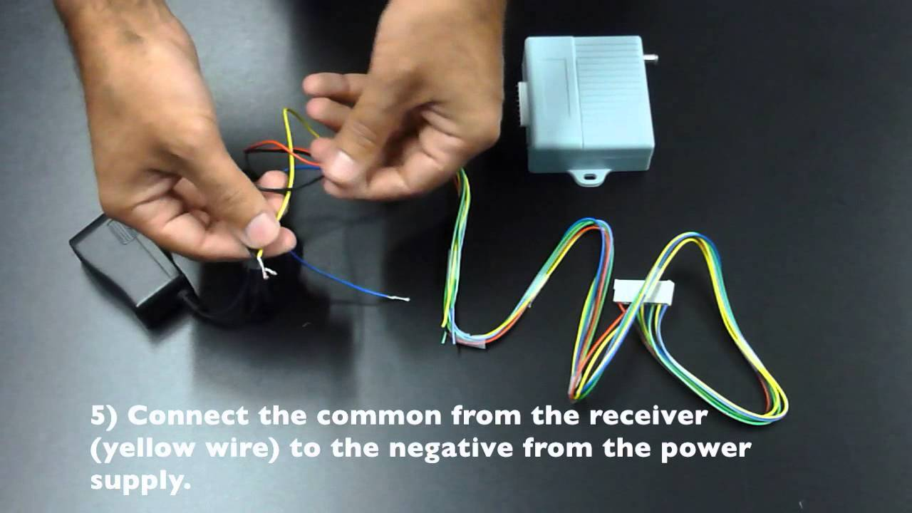 Magnetic Lock Kit Wiring Instructions Youtube