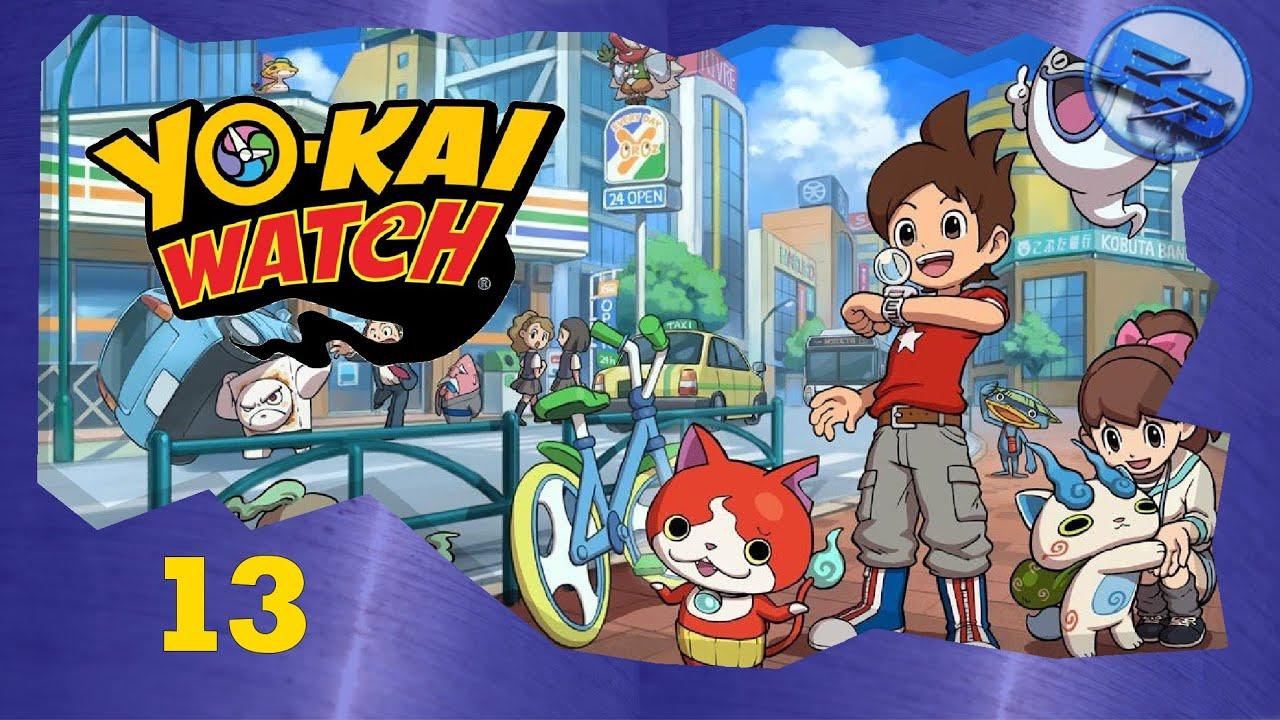 Lets Play Yokai Watch 13 Münzen Am Yokaimaten Aktivieren Yokai