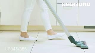 Беспроводной вертикальный пылесос REDMOND RV-UR345 - для быстрой уборки