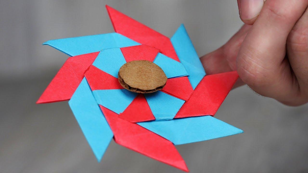 How to Make DIY Paper Fidget Spinner