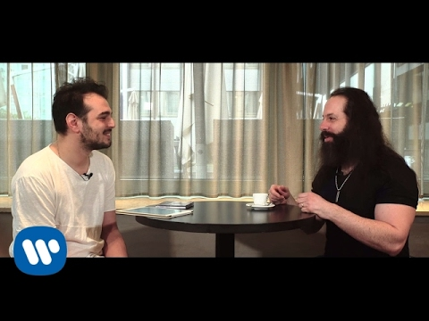 #WarnerSquad - John Petrucci (Dream Theater) interviewed by Davide Ferrario