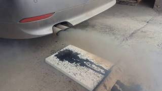 Hydrogen engine carbon cleaning of BMW 530 (e60) очистка водородом двигателя