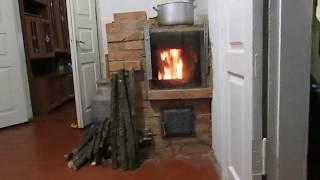 Обзор Подовой отопительно варочной печи с духовкой и хлебной камерой