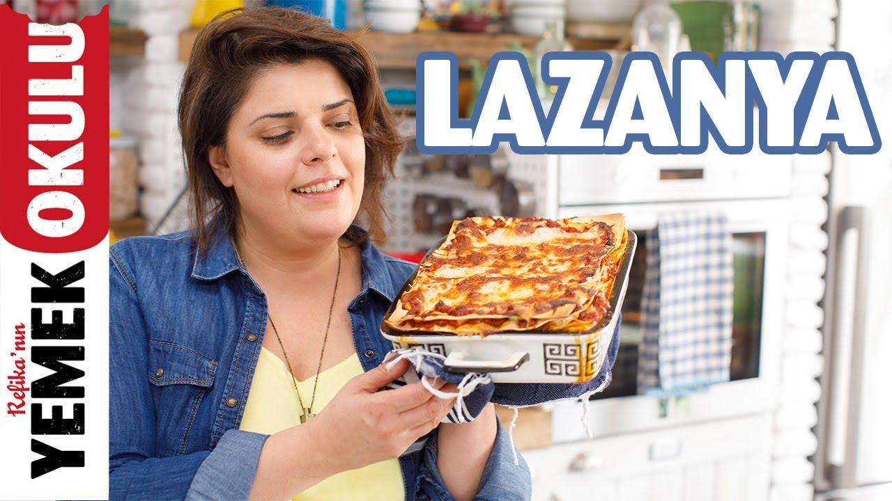 Mükemmel Lazanya Tarifi ve Kek Kalıbında Lazanya Yapmak