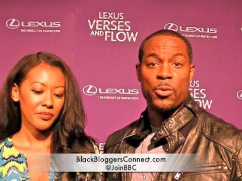 Darrin DeWitt Henson & Denyce Lawton At Verses & Flow Season 3