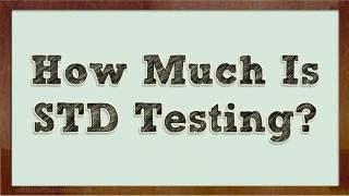 How Much is STD Testing