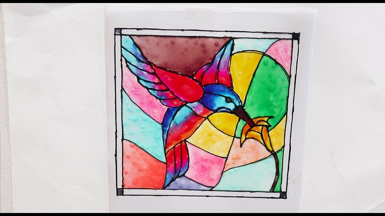 Glass Painting Ideas Glass Painting Step By Step Process Youtube