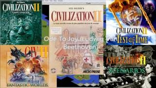 Civilization II Complete Game CD Soundtrack + Wonders (PC Windows, 1996/1999)