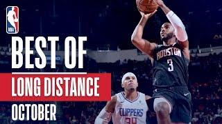 NBA's Best Long Distance Shots   October 2018-19 NBA Season
