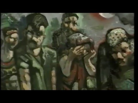 Peter Howson:  Face in the Crowd