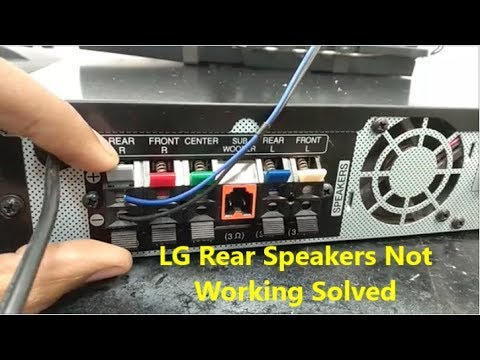 lg-rear-speakers-not-working-solved,-how-to