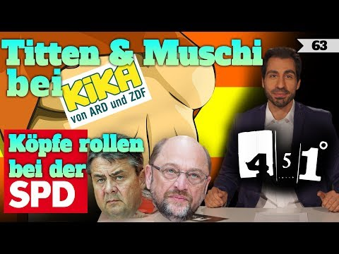 SPD Machtkampf und Selbstzerstörung | Brüste TV auf KIKA | 451 Grad | 63