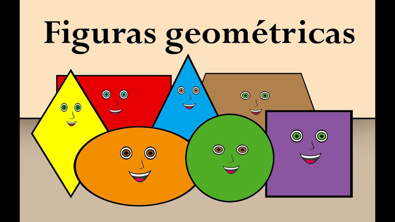 Las figuras geometricas en espa ol youtube for Las formas geometricas
