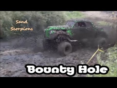 Alternative Bounty Hole At Moses Lake Mud Flats Hosted By Sand Scorpions