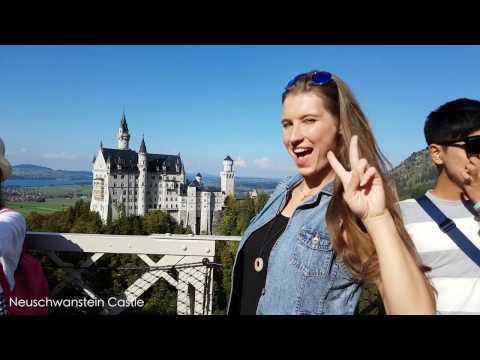 Bavaria, Germany. Family Trip To Oktoberfest. September 2016
