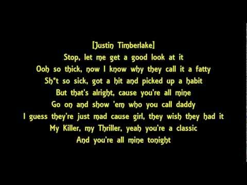 Justin Timberlake ft. Jay-z - Suit and Tie with Lyrics