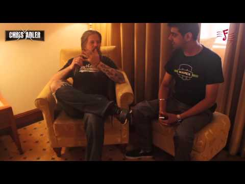 Candid Interview with Chris Adler in Mumbai - 2015