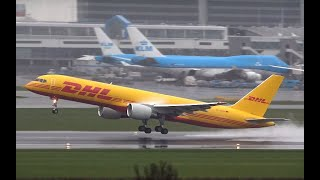 10-3-2019  Airplane Spotting at Amsterdam Airport Schiphol (DutchPlaneSpotter)