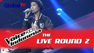 "Nuca ""Let It Go"" I The Live Rounds I The Voice Kids Indonesia GlobalTV 2016"