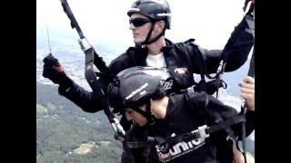 De Jaraguá do Sul à Pomerode em Voo Duplo - Voar Livre Parapente