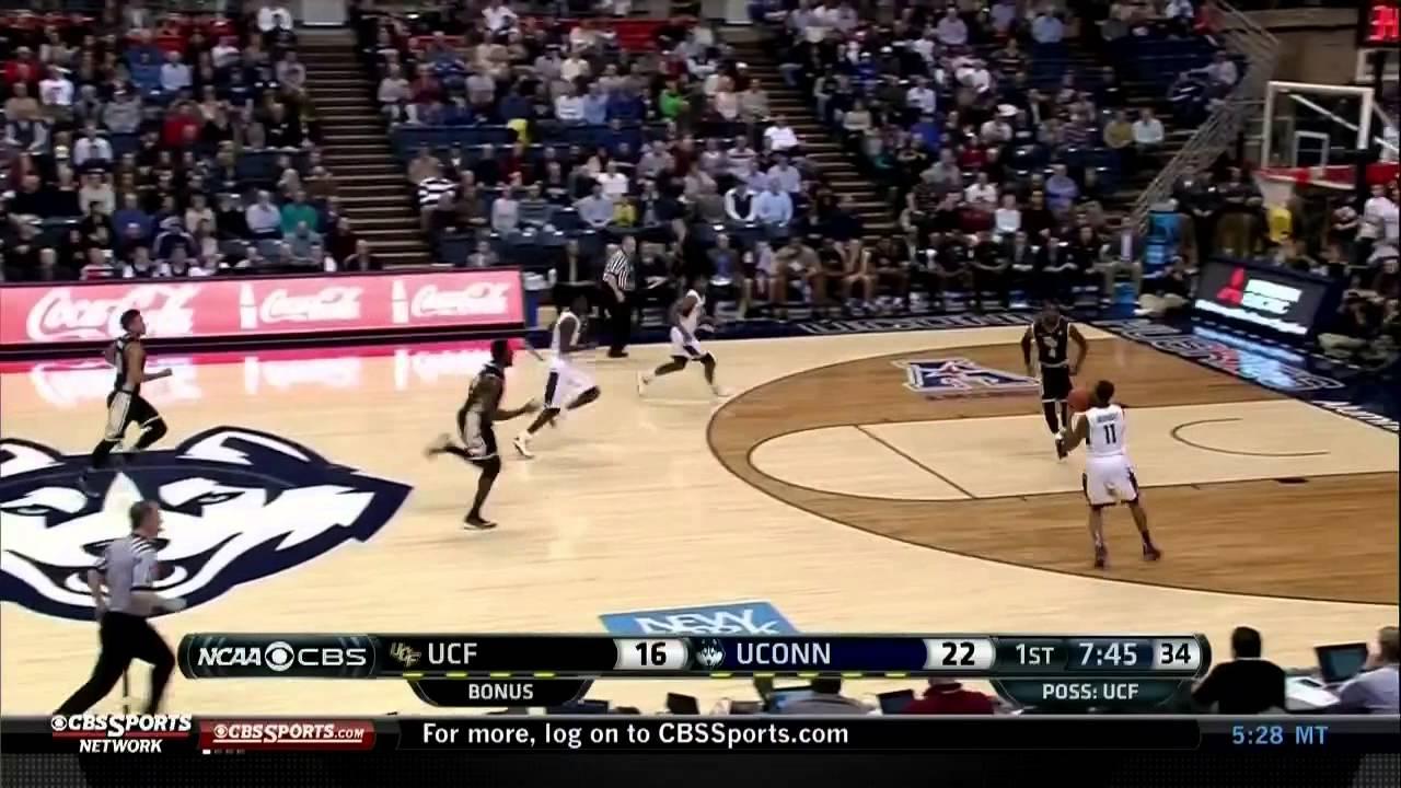 UConn Men's Basketball vs. UCF Highlights - YouTube