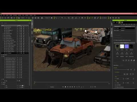 iClone 6.5 Tutorial - Customizing & Animating Vehicles